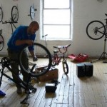 Bike Maintenance Area