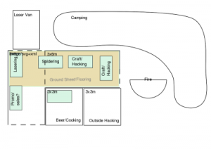 Nottingham Hackspace's plan for EMF Camp