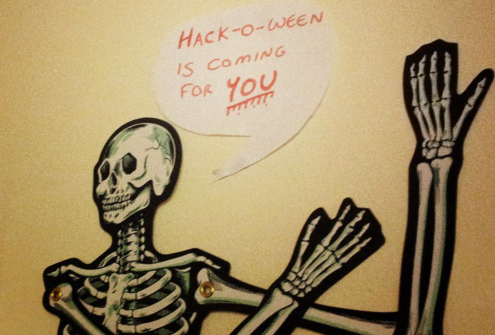 Hack-o-ween is coming
