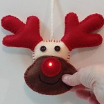 Interaqctive Light-up Rudolph