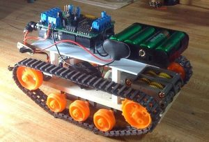 Arduino Robot Base by Chris Palmer