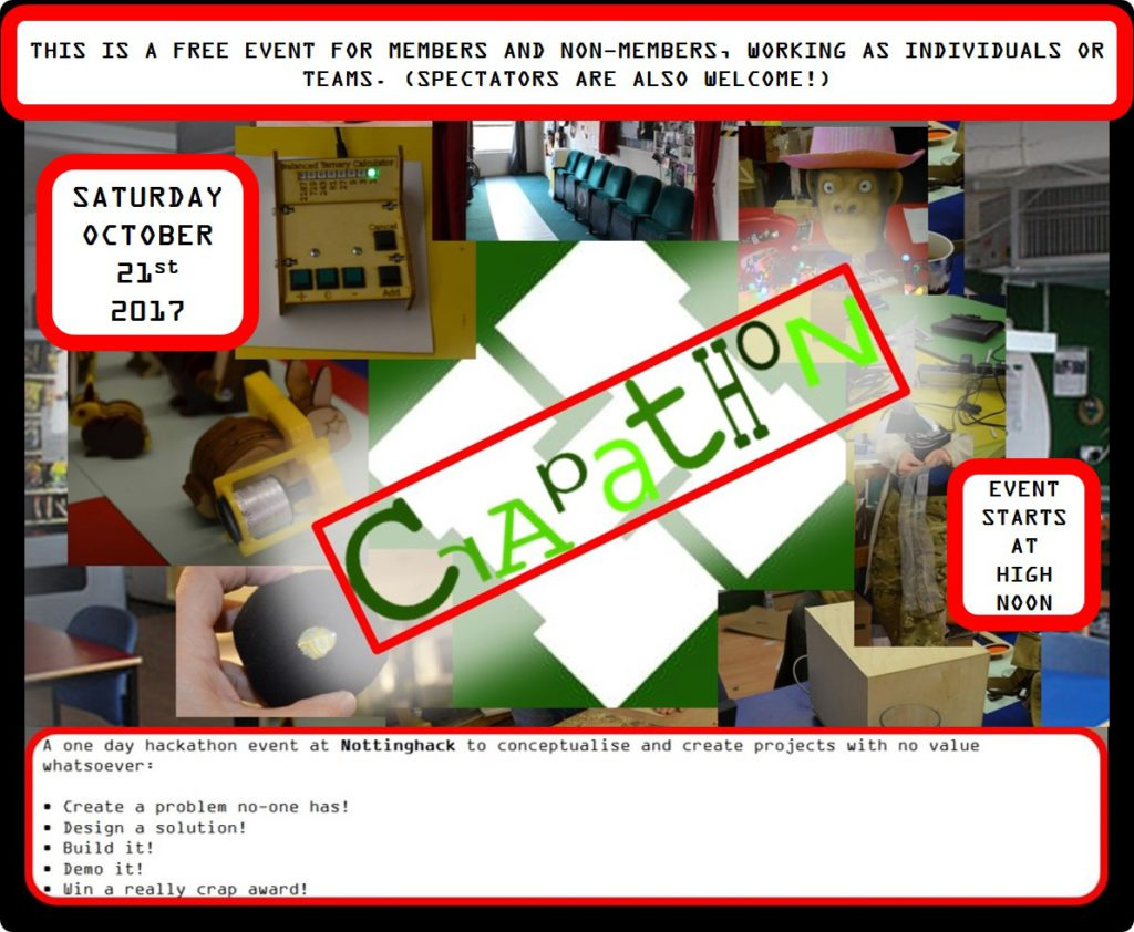 Poster for the CRAPATHON
