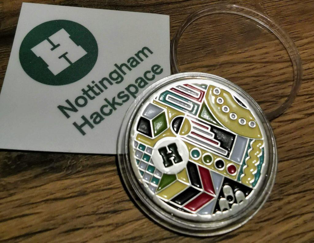 Hackspace Challenge Coin